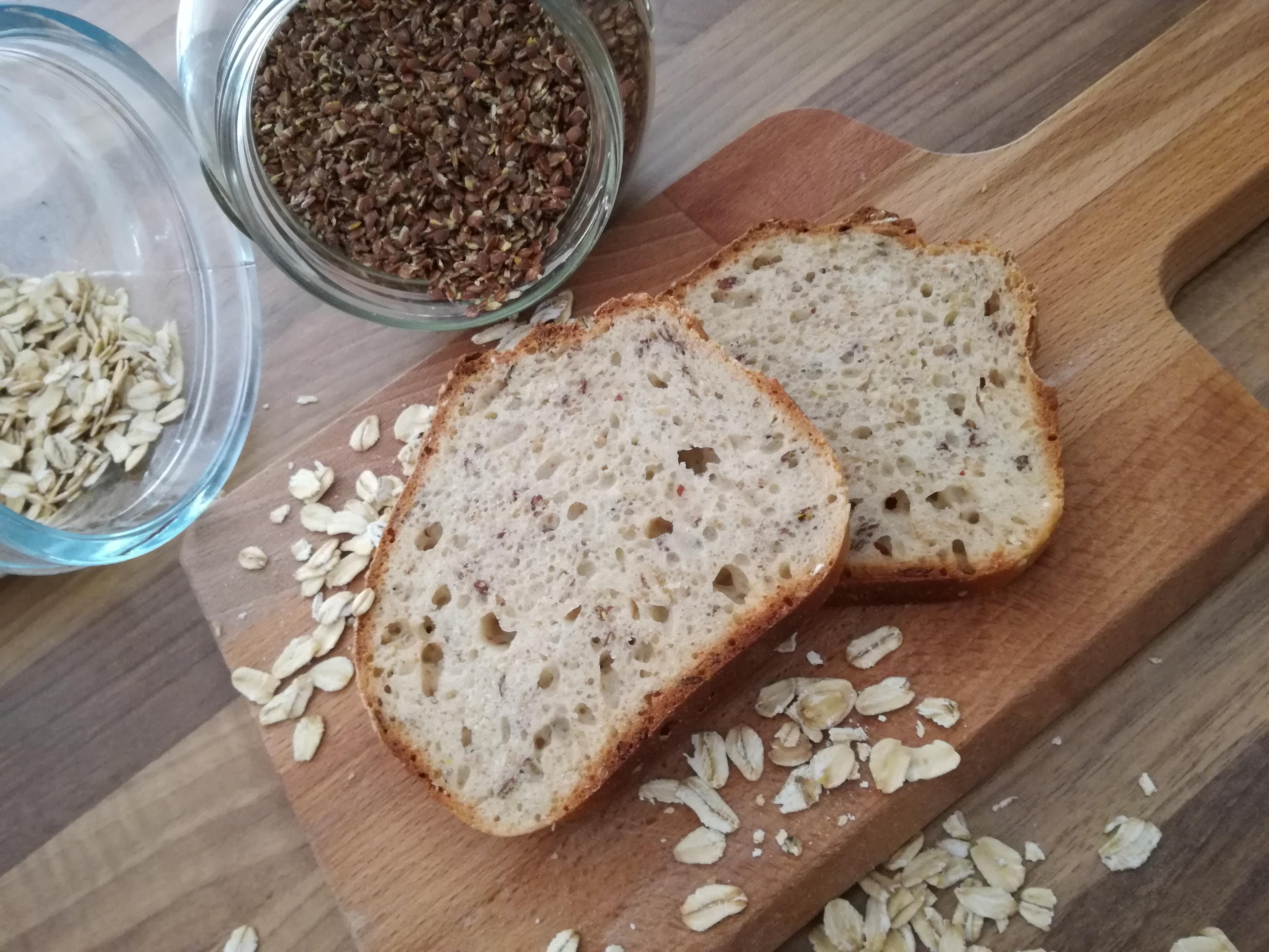 Dinkel-Brot in 70 Minuten