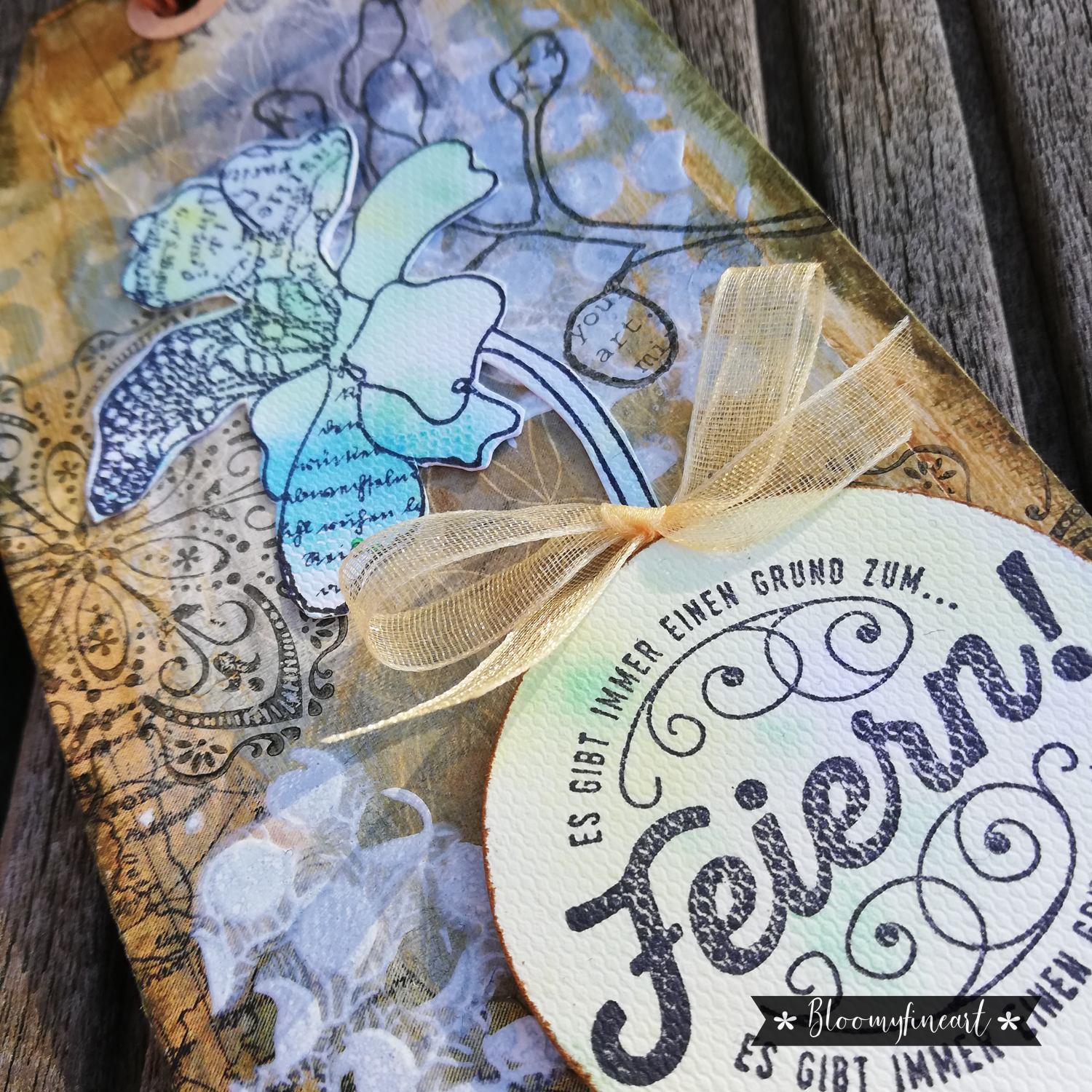 Mixed Media Gift-Tags
