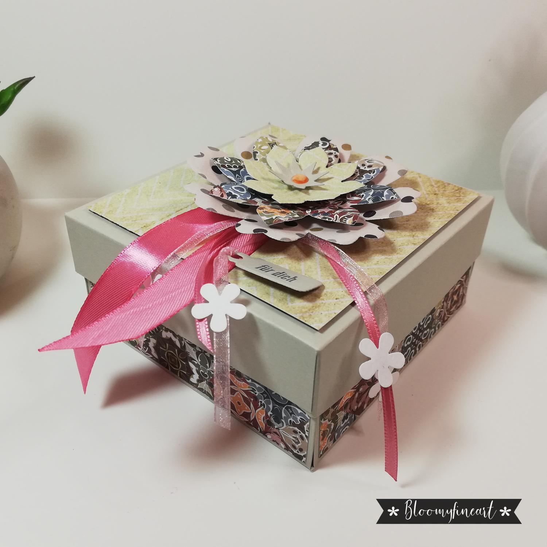 Explosionsbox zum Geburtstag
