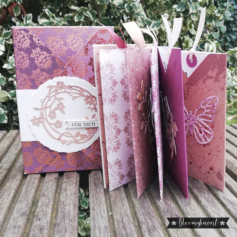 Gutschein-Hefte in einer Box