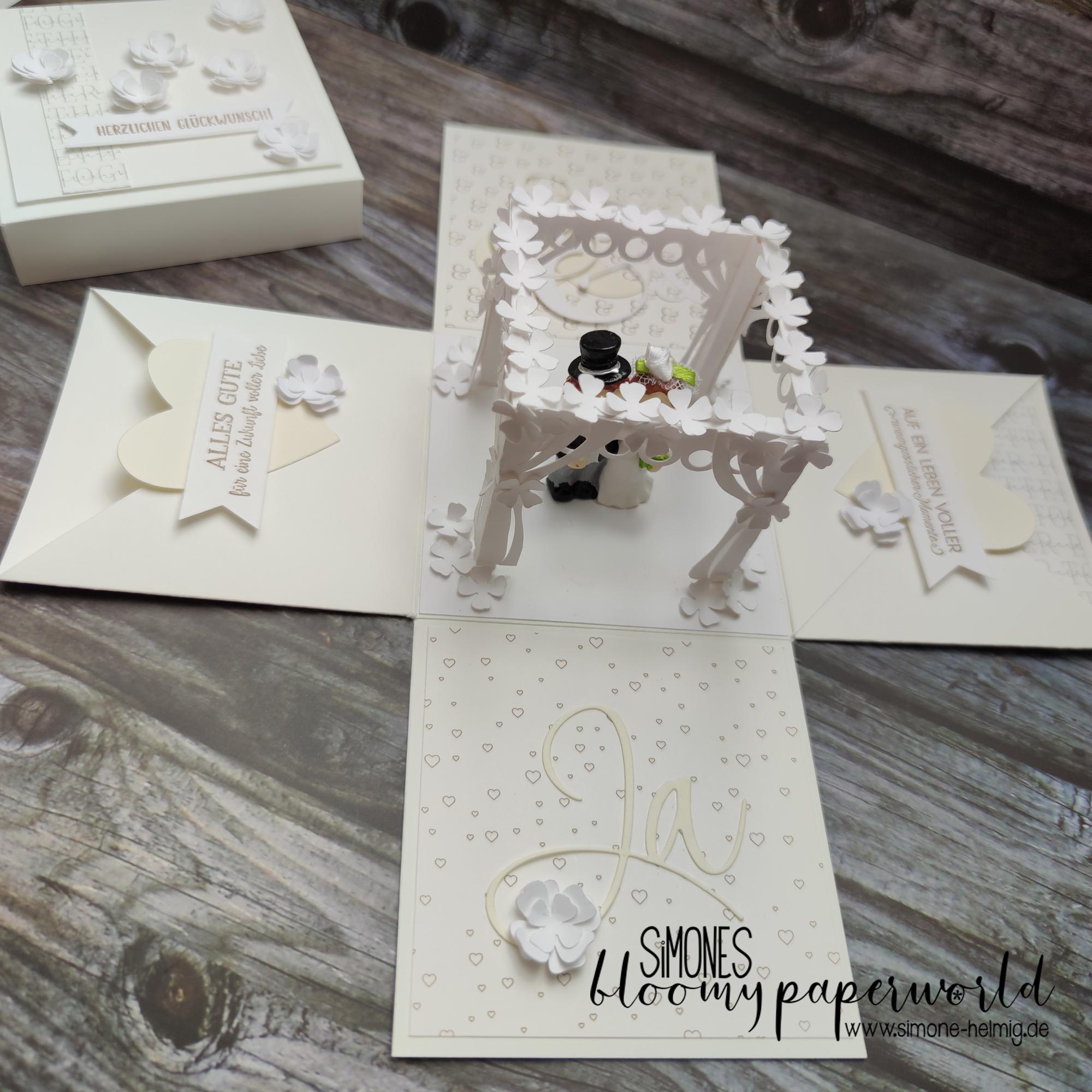 Ein Hochzeitspavillon